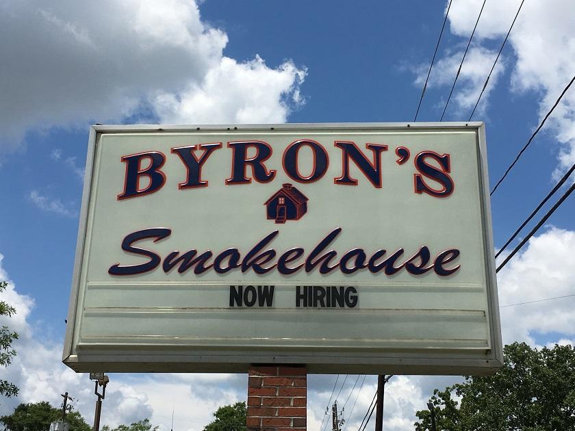 Byron's Smokehouse, AuburnAL