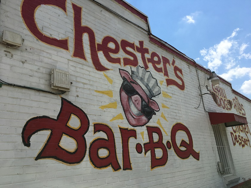Chester's Barbeque, Columbus GA
