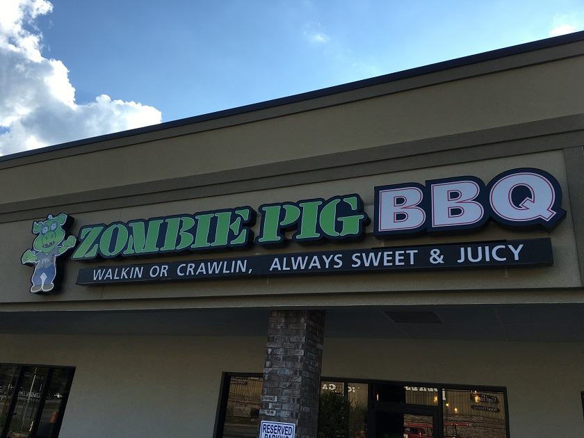 Zombie Pig BBQ, ColumbusGA