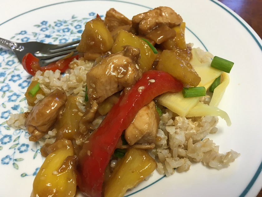 Food From Fiction 10: Taylor's Pineapple Chicken Stir Fry