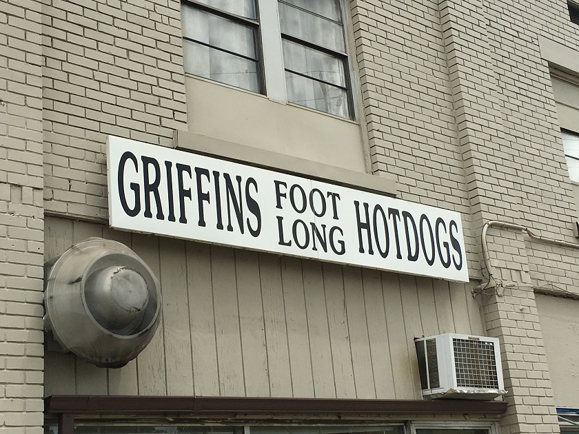 Griffin's Foot Long Hotdogs, Chattanooga TN