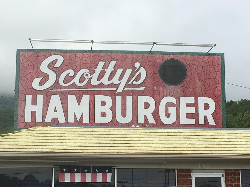 Scotty's Hamburger, Caryville TN – Marie, Let's Eat!