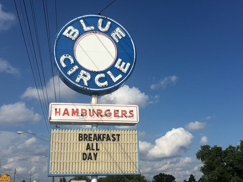 Blue Circle Hamburgers, Bristol TN