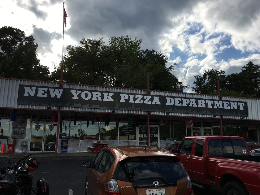 New York Pizza Department, Hixson TN