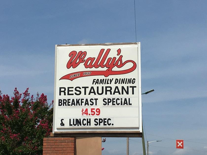 Wally's Restaurant, ChattanoogaTN