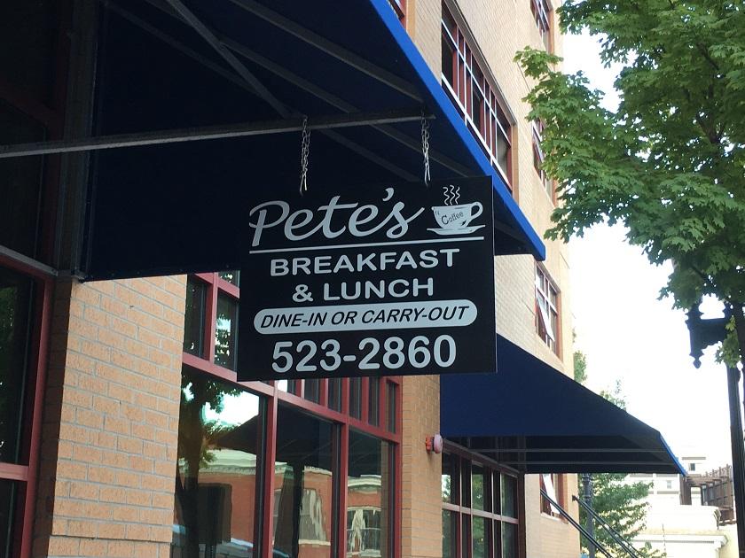 Pete's Coffee Shop, KnoxvilleTN