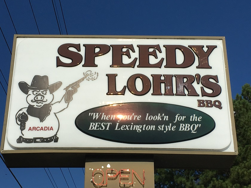 Speedy Lohr's of Arcadia, Lexington NC