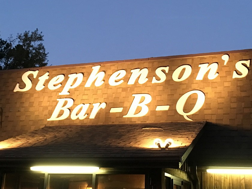 Stephenson's Bar-B-Q, Willow Spring NC