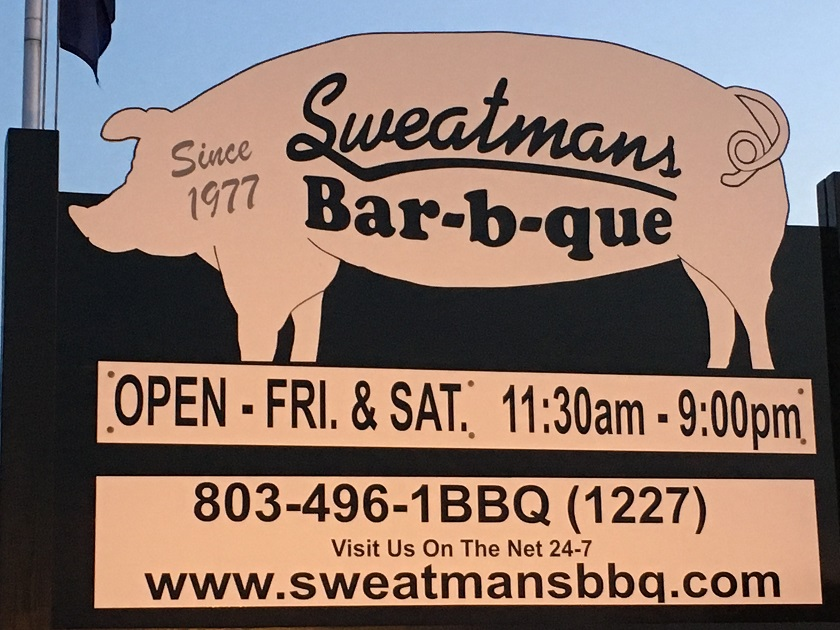 Sweatman's Bar-B-Que, Holly Hill SC