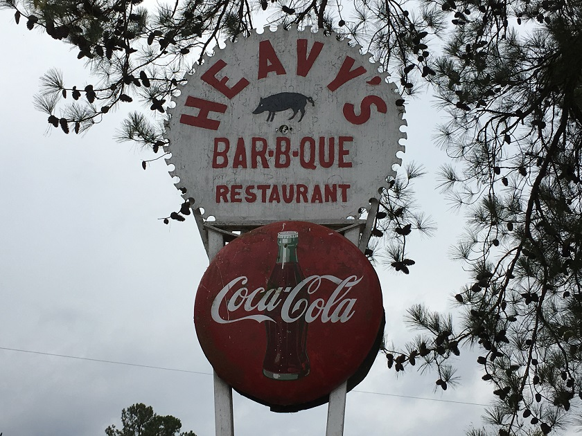 Heavy's Bar-B-Q, Crawfordville GA