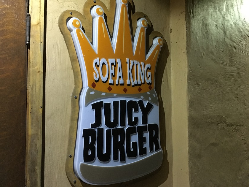 Sofa King Juicy Burger, ChattanoogaTN