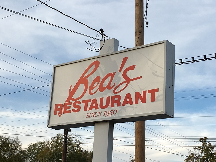Bea's Restaurant, Chattanooga TN