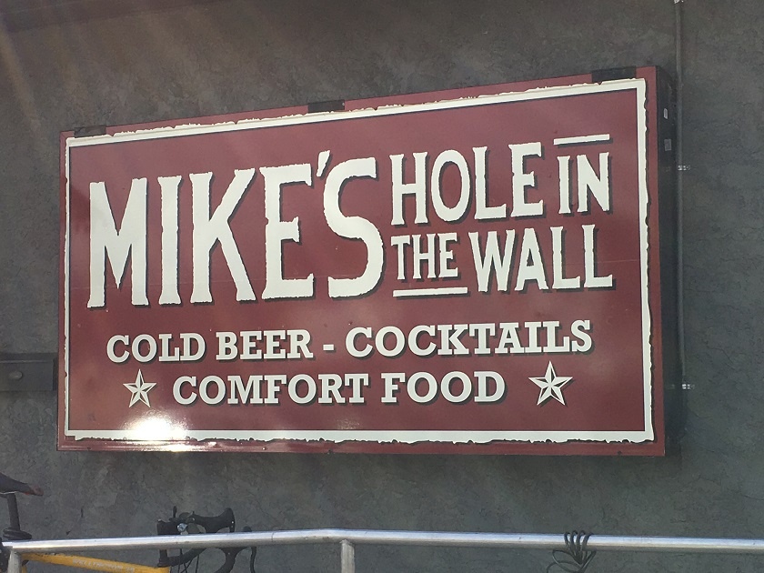 Mike's Hole in the Wall, ChattanoogaTN