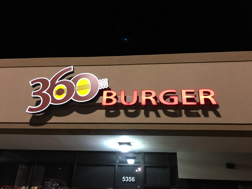 360 Burger, Nashville TN (CLOSED)