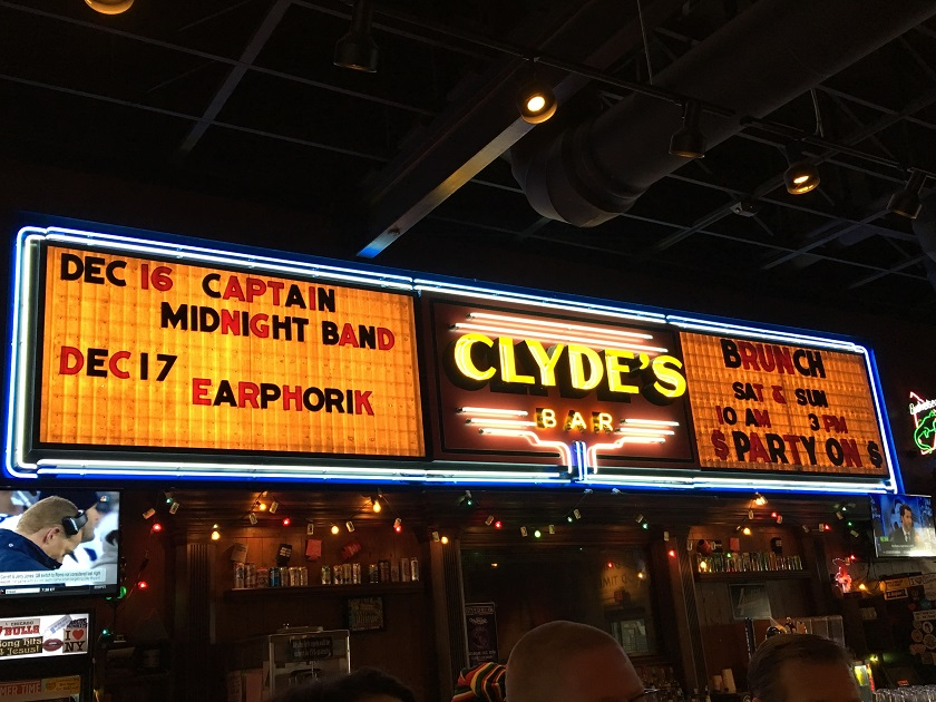 Clyde's on Main, Chattanooga TN