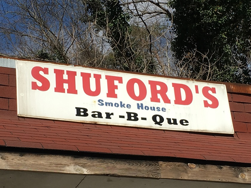 Shuford's Smokehouse, Chattanooga TN (take two)