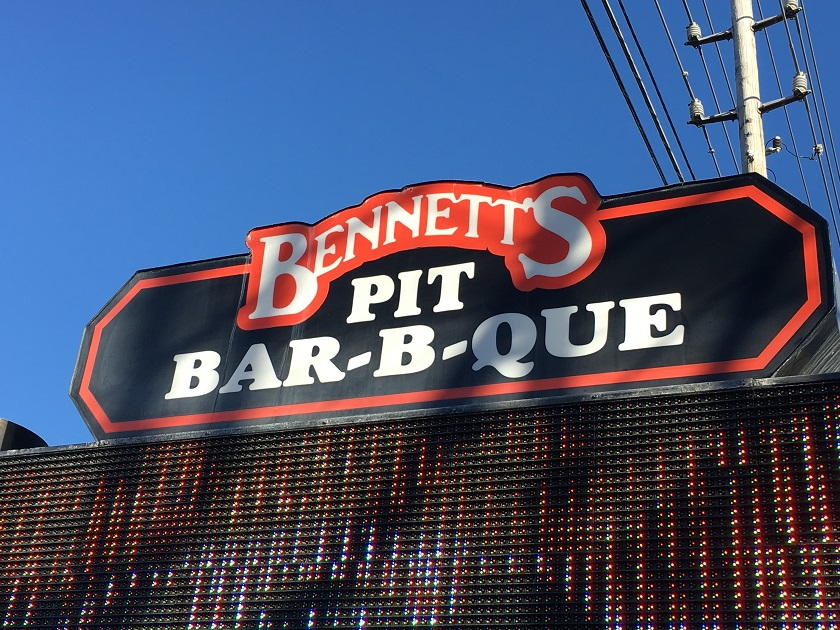 Bennett's Pit Bar-B-Que, Pigeon Forge TN