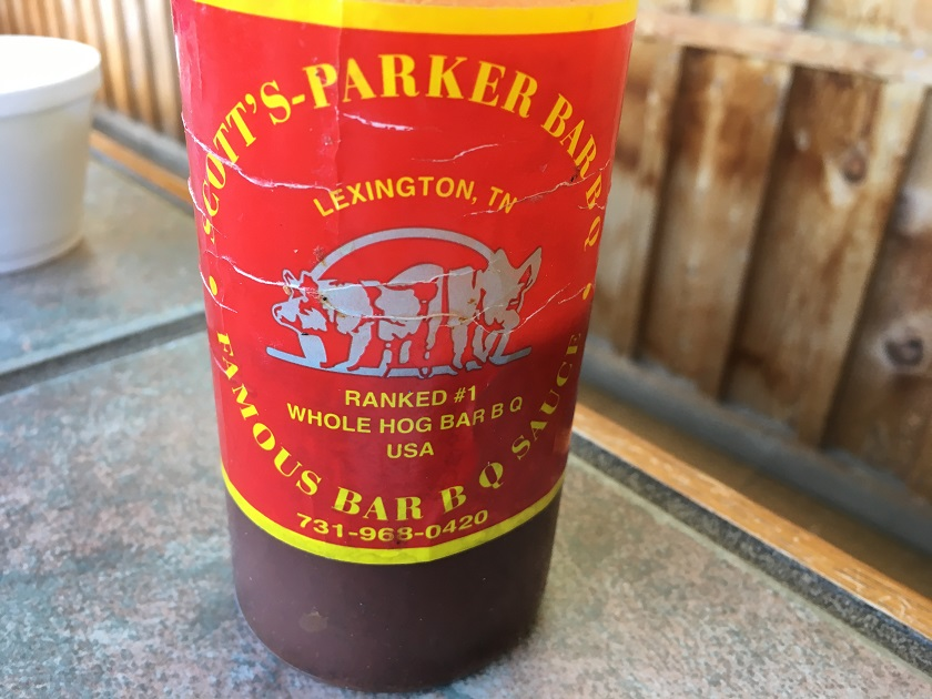 Scott's-Parker Bar-B-Q, Lexington TN