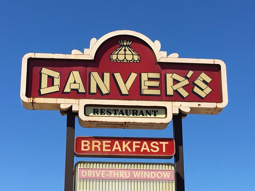 Danver's Restaurant, MemphisTN