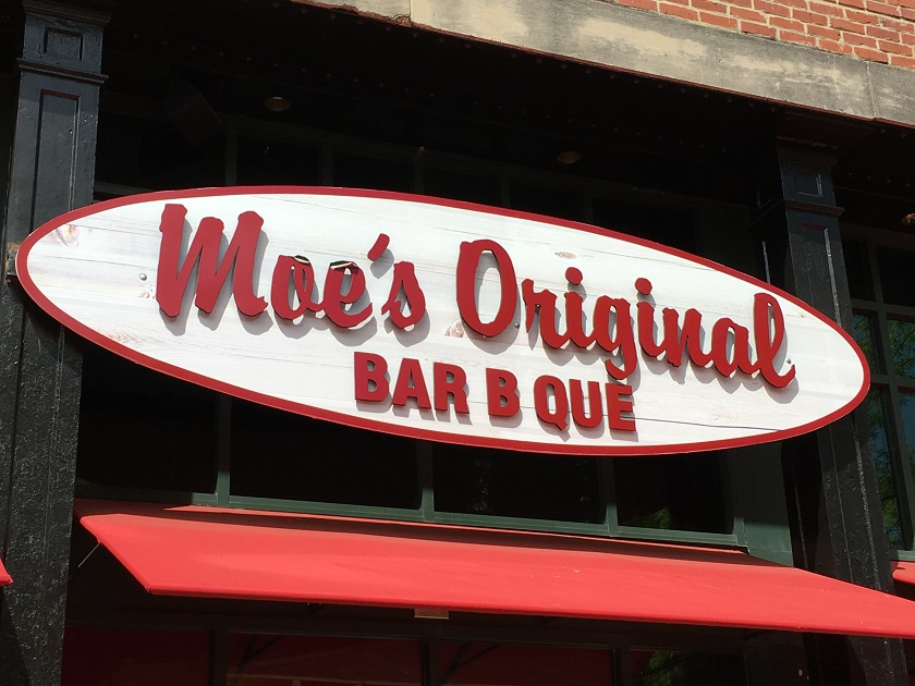 Moe's Original Bar-B-Que, Chattanooga TN