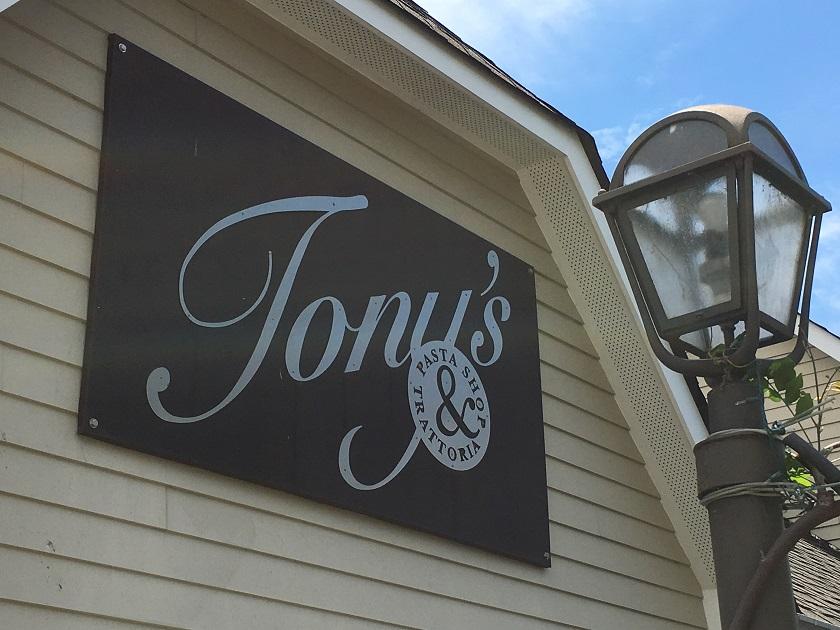 Tony's Pasta Shop & Trattoria, ChattanoogaTN
