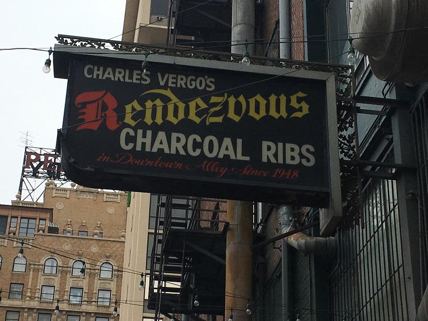 Charlie Vergos' Rendezvous, MemphisTN